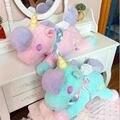 Мультфильм игрушки Единорог плюшевые куклы лошадь Плюшевые Игрушки Высокого качества Игрушки дети лучший подарок