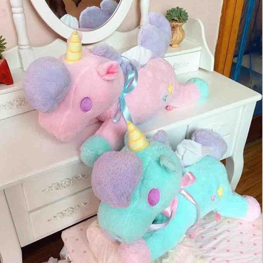 Cartoon toys Unicorn plush dolls horse Plush Toy High quality Toys kids children best gift
