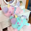 Juguetes Unicornio de dibujos animados muñecos de peluche caballo de Juguete de Felpa de Alta calidad Juguetes de los niños los niños el mejor regalo