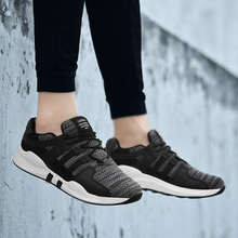 Купить с кэшбэком Men Sneakers High Quality Brand Men Casual Shoes Summer Breathable Men Shoes Lightweight Soft Footwear New Fashion Male Zapatos