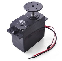 F18140/1 SUPER200 300 High Torque Metal Servo 12 24V 200kg.cm / 300kg.cm 0.5S/60 Degree BEC 5V for DIY Large Robot Arm