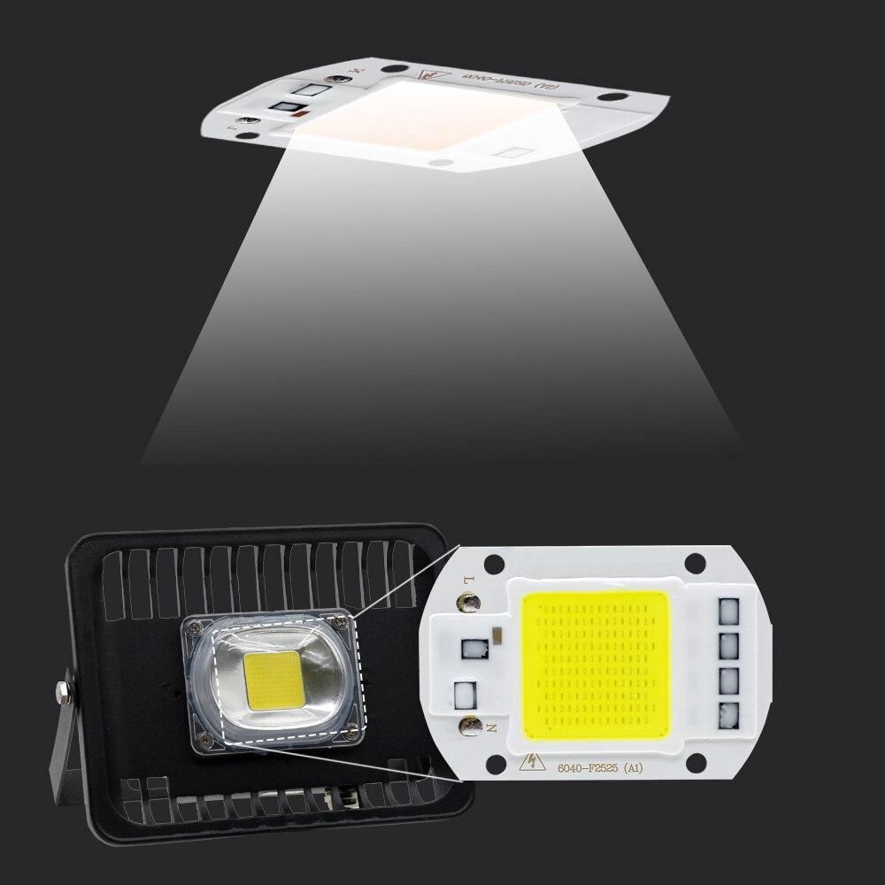 Светодиодный прожектор 50 Вт 30 Вт 100 Вт IP65 Водонепроницаемый прожектор 220 В светодиодный Spotlight Refletor открытый Gargen освещения