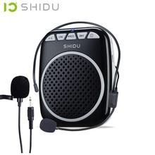 2016 Nouveau Numérique enseignement Mégaphone Microphone Amplificateur de Voix Haut-Parleur Audio Booster Externe Haut-Parleur Avec USB TF Ceinture