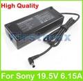 Para sony 19.5 v 6.15a 120 w laptop ac adaptador de corriente cargador vgp-ac19v46 vgp-ac19v45 vgp-ac19v52 vgp-ac19v53 vgp-ac19v9