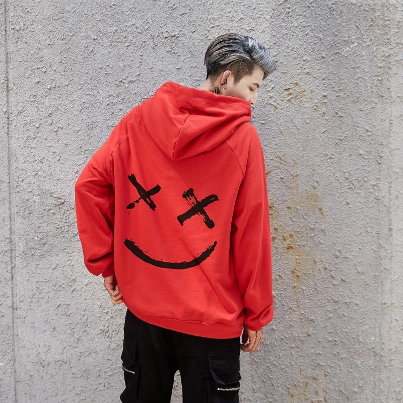 nya mode hoodies herrtröja tryck hoodie herr coola tröjor med - Herrkläder - Foto 4