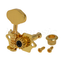 10Set Gold Guitar Tuning Peg Tuners Machine Head For Sta Tite Replacement