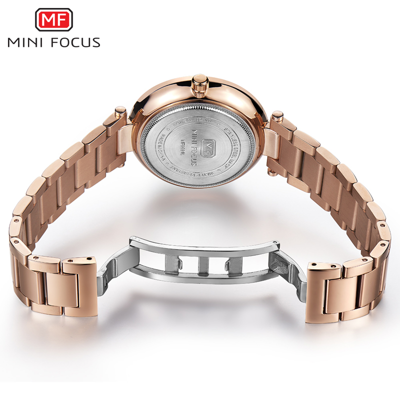 Image 5 - MINI FOCUS Women Watches Waterproof Lady Watch Wrist Brand Luxury Fashion Ladies Womens Wristwatch Clock Woman Relogio FemininoWomens Watches   -