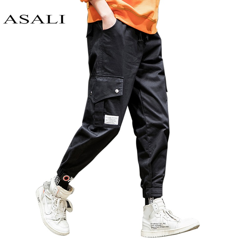 Military Black Combat Army Cargo Pants Working Pant Tactical Men Jogger Top Solid Cotton Cargo Pants Mens Casual Slim Trousers