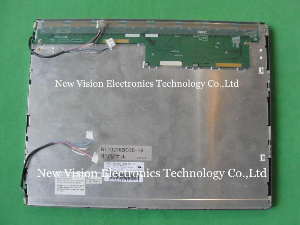 NL10276BC30 18 Original A quality 15 inch LCD Module for Industrial Equipment