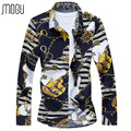 shirt shirts men shirt solid color Asian size M-7XL long sleeve A056-566