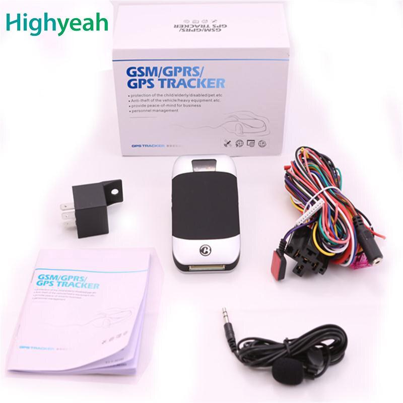 Auto GPS Tracker Motorfiets GPS GSM GPRS Tracking Coban TK303 TK303H - Auto-elektronica