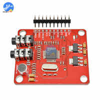 VS1053 MP3 Module UNO Breakout Board With SD Card Slot VS1053B Ogg Real-time Recording MP3 Player Shield Record for Arduino