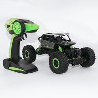 2 4GHz RC Car 4WD Rock Crawlers Rally Climbing Car 1 18 Double Motors Bigfoot Car