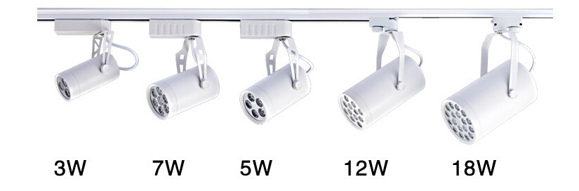2pcs 35w industrial rotated track lighting led track light for store lowest price 5w kitchen led track lighting 5 led pendant wall spot lamp for clothing stores aloadofball Image collections