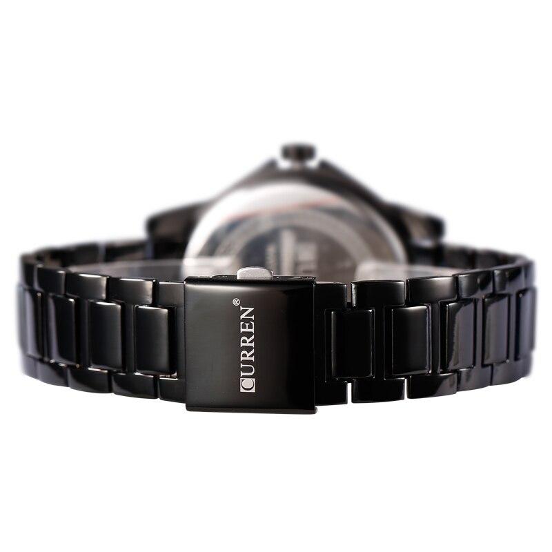HOT CURREN Relojes de Cuarzo Hombres de Primeras Marcas de Lujo - Relojes para hombres - foto 6