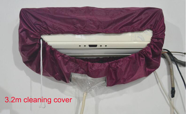 Factory direct Big size 3.2m Air condition cleaning cover Refrigeration cleaning tools AC clean cover 3.2meters