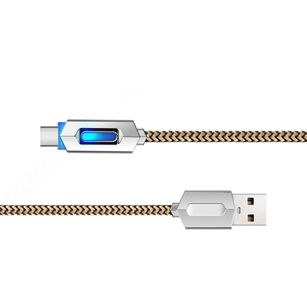 Brand New 1m Nylon Charging Cable Data Sync Fast Charge