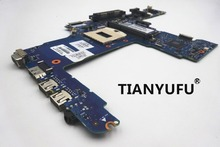 Original laptop motherboard 744009 001 for HP for ProBook 640 G1 650 G1 motherboard QM87 chipset PGA947 HD 4600 free shipping