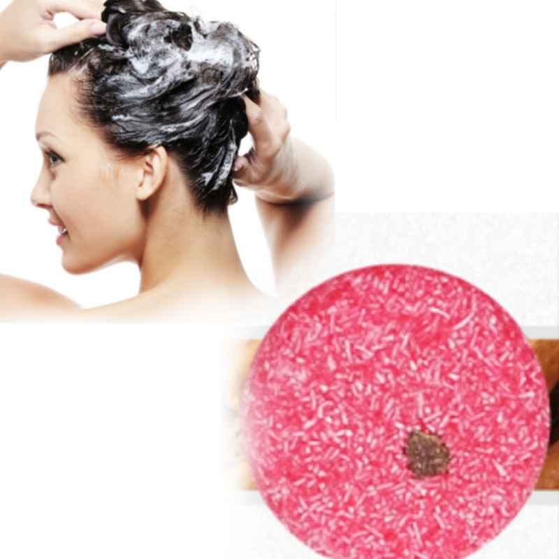 Hair-Shampoo Soap Handmade Natural Anti-Dandruff-Off Pure Oil-Control Bar