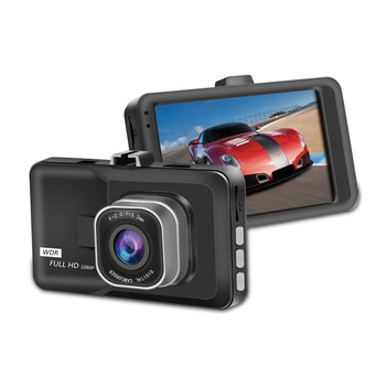 "3"" 1080P HD Dash Cam G-Sensor Motion Detection Wide Angle Night Vision Video Car DVR Camera Recorder Cyclic Recording"