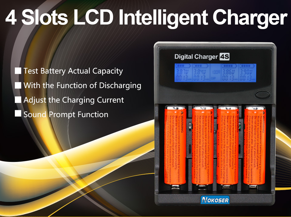 Test Battery Capacity Lcd Charger For 3 7v 18650 18350 16340 17500 14500 26650 Aa Aaa Ni Mh Best Rechargeable