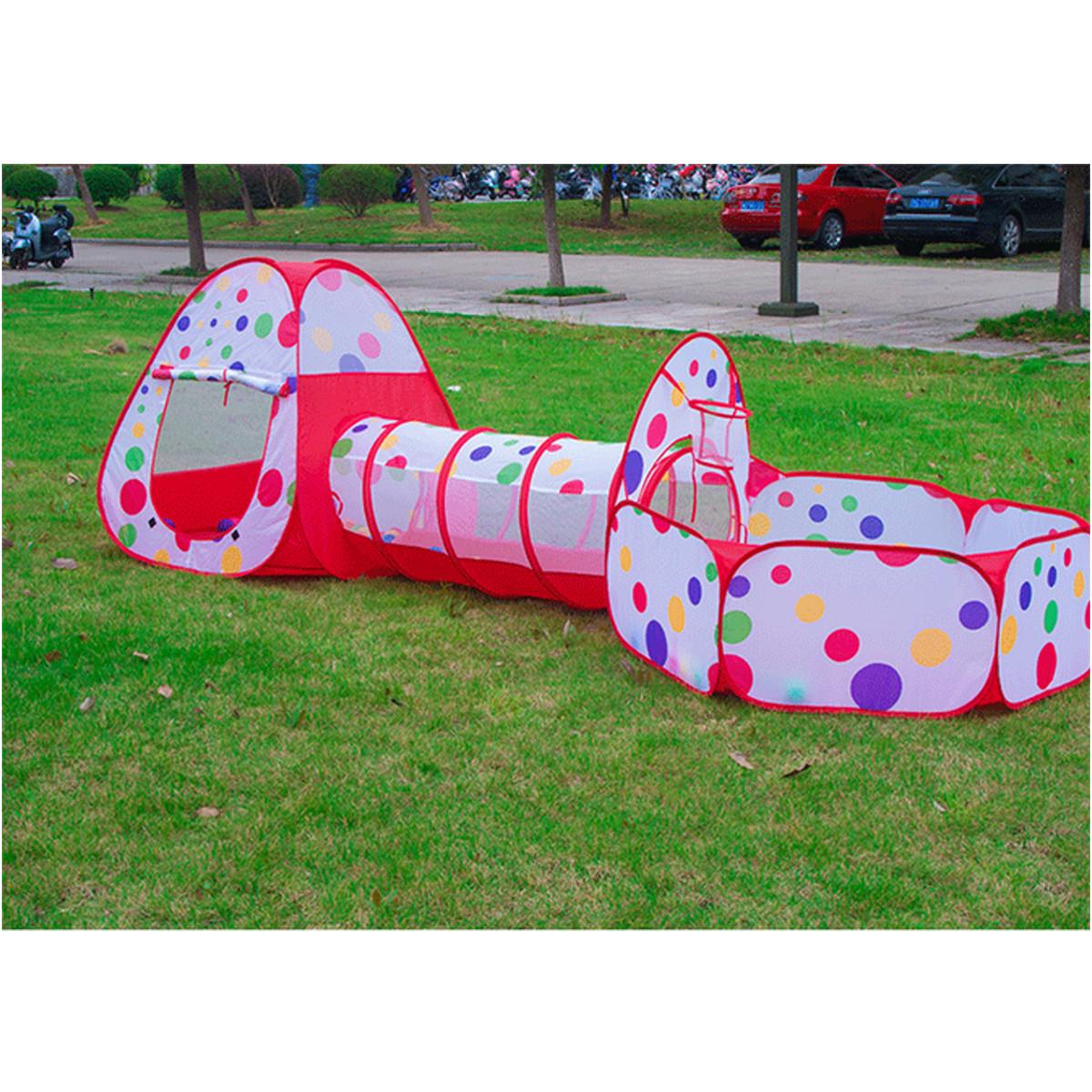 diversin unidsset tnel pop up play tent plegable nio de los cabritos juguetes para nios casa de juegos los nios juegan j