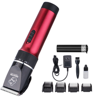 Baorun Professional Electric Pet Hair Cutter Animal Grooming Clipper Pet Dog Cat Rechargeable Trimmer