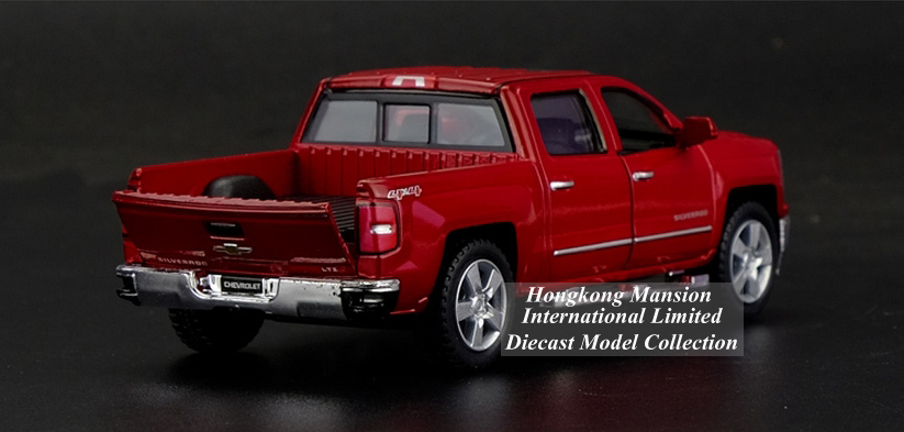 136 Car Model For Chevrolet SILVERADO Pickup (5)