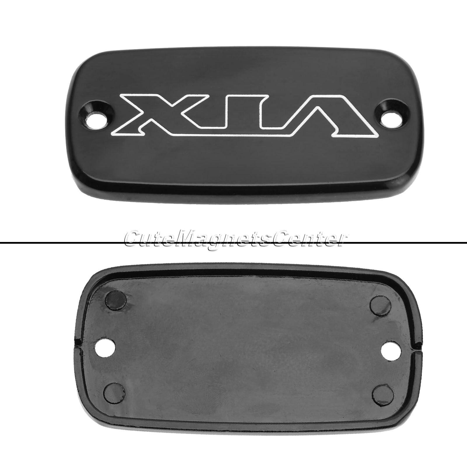 Honda motorcycles logo - 1pc Black Motorcycle Brake Fluid Reservoir Cap For Honda Vtx 1800 2002 2011 Aluminum Engraved