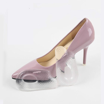Silicone Gel High Heel Insoles Pads For Shoes Inserts Cushion Foot Care Heel Pad Shoe Insole Soles