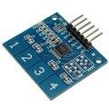 Новый 4 Канала Цифровой Сенсорный Емкостной Датчик Переключатель Кнопка Модуль Для Arduino TTP224 Электронные Демо-Плате
