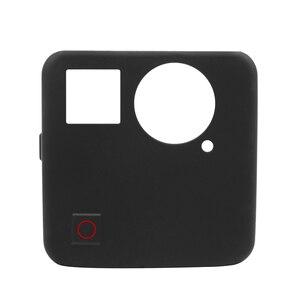 Image 2 - SCHIEßEN Weiche Silikon Schutzhülle Fall für GoPro Fusion Action Kamera Gehäuse Abdeckung Fall für Go Pro Fusion Kamera Zubehör