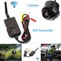 Fochtech Com Fio/WI-FI Sem Fio Transmissor de Vídeo Em Tempo Real suporte IOS & Android e câmera CCD de visão traseira Do Carro