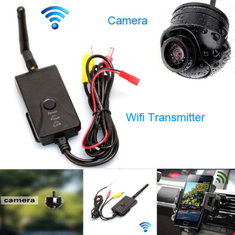 ФОТО Fochtech Wired / Wireless WIFI Realtime Video Transmitter support IOS&Android and Car rear view CCD camera