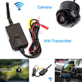 Fochtech Wired/Wireless WIFI Transmisor de Vídeo En Tiempo Real soporte IOS y Android y opinión posterior Del Coche Del CCD cámara