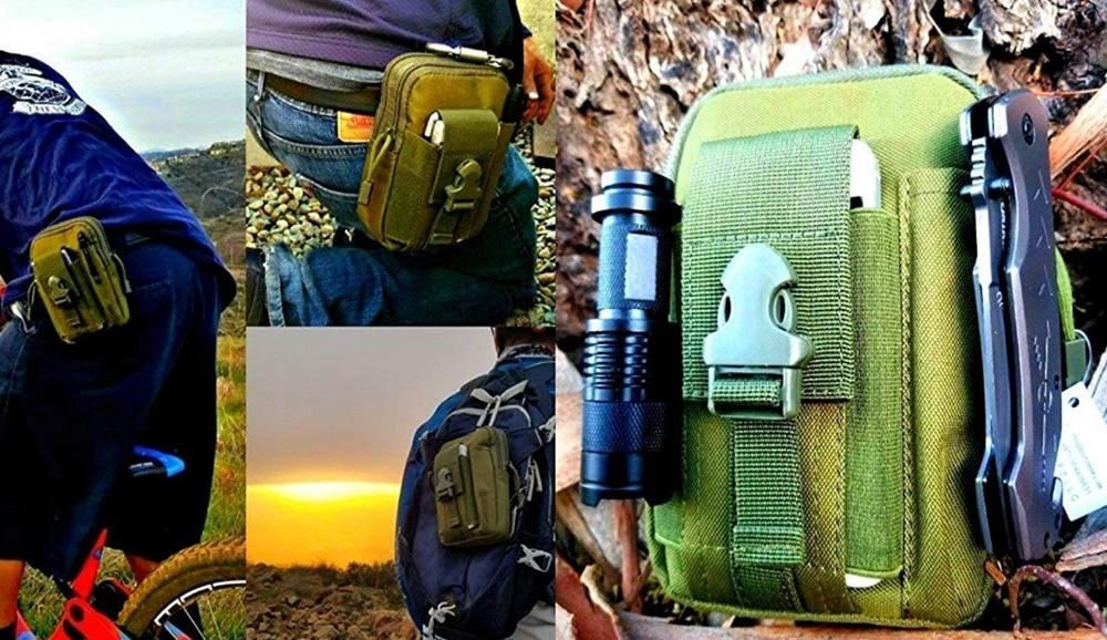 Survival kit set survive wristband pen edc tool backpack survival gadgets (23)_