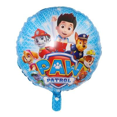 Хит, Paw Patrol, украшение на день рождения, фигурки, игрушки, Щенячий патруль, воздушные шары, вечерние, декор для комнаты, Чейз, Маршалл, баллон, детские игрушки для девочек - Цвет: C