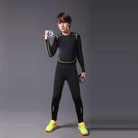 Top Running Tights Mens Basketball Pants Compression Fitness Gym Running Training Sets Kids Jogging Leggings Tights