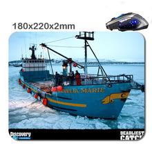 Deadliest catch cornelia marie Custom Non-Slip Durable Computer Laptop Gaming Rubber Mouse Pad in 220*180*2 Mm As office Gift