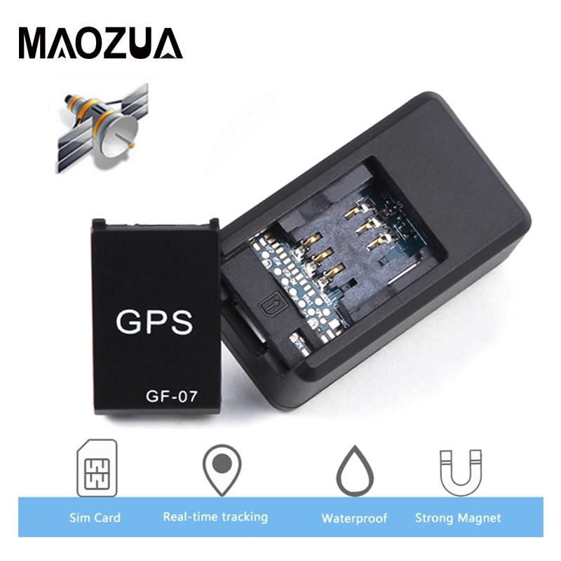 GF07 GSM GPRS voiture GPS Tracker magnétique Mini véhicule camion GPS localisateur Anti-perte enregistrement dispositif de suivi peut contrôle vocal