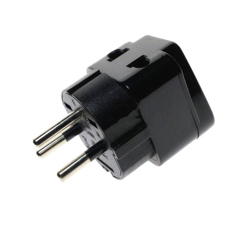 2x Universal EU UK AU to US USA AC Travel Power Plug Adapter Outlet Converter c1