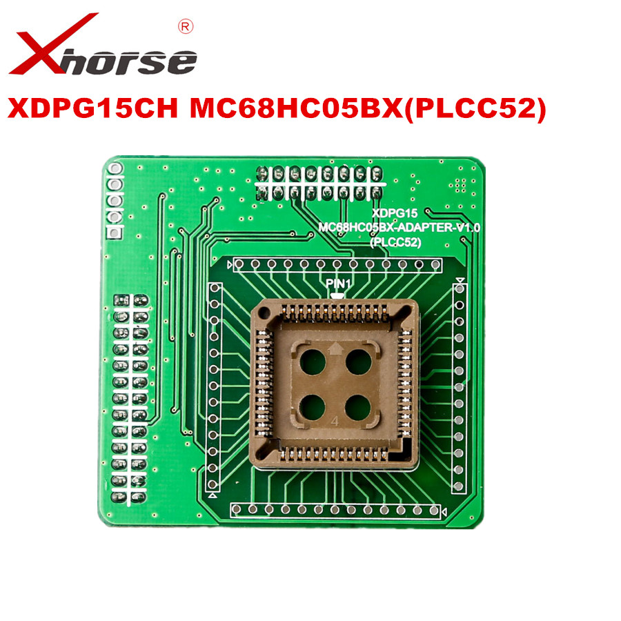 XHORSE XDPG15CH MC68HC05BX PLCC52 Adapter Working Together With VVDI PROG