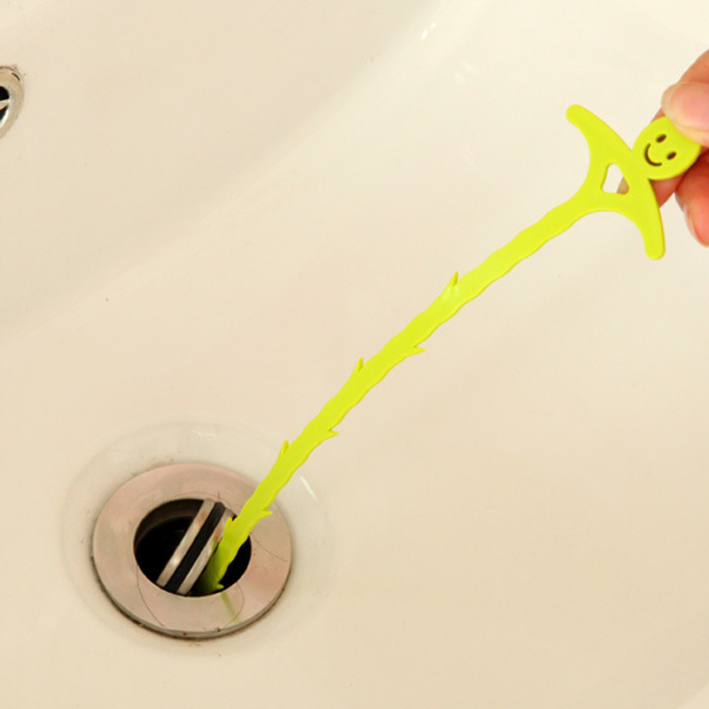 Bathroom Hair Sewer Dredge Sink Cleaning Hook Floor Drain Sewer Dredge Small Tools Hair Stoppers Clean The Hair 20