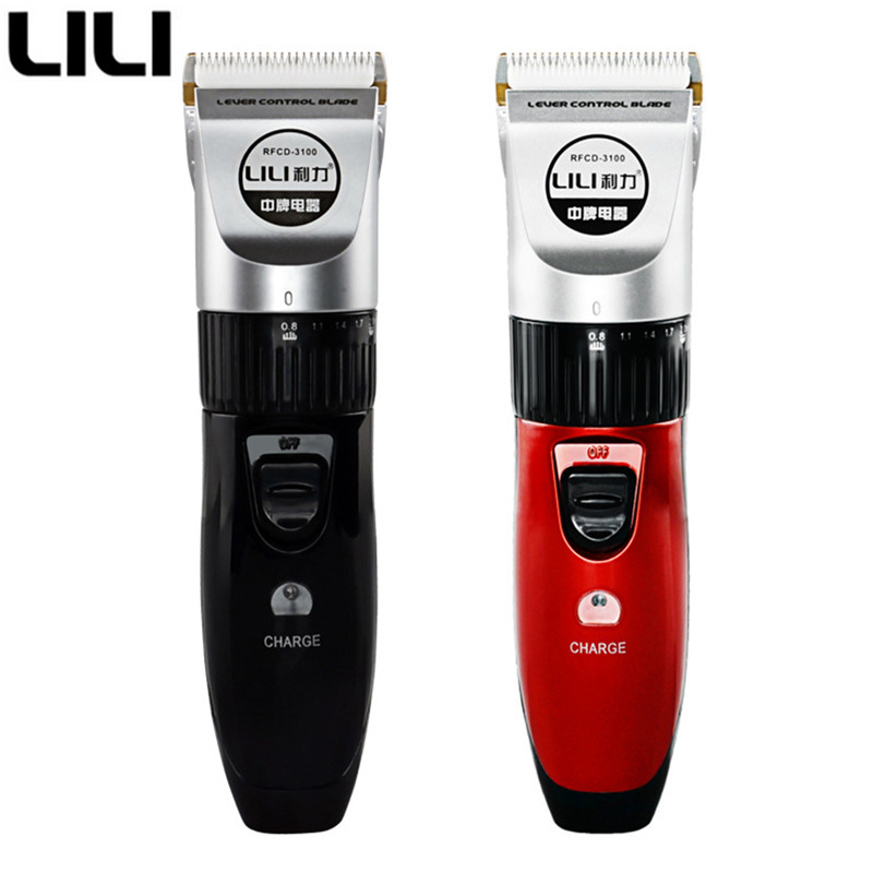 Authentic LILI Profesional Listrik Pemangkas Rambut clipper Rechargeable Hair Cutting Machine multi-gaya Potongan Rambut Styling Razor