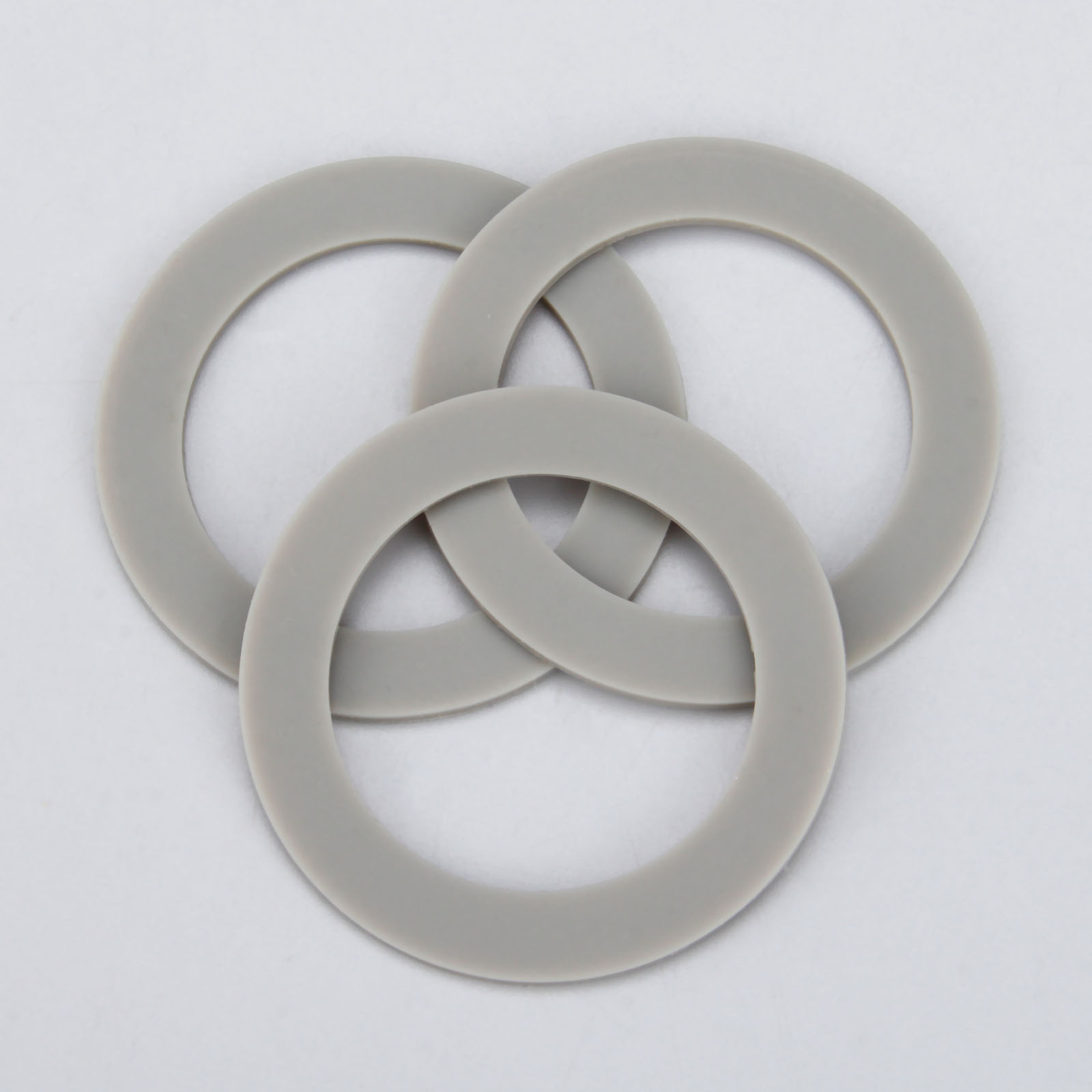 3Pcs Replacement Rubber Base Sealing Gasket O-ring Fit For Hamilton Beach Blender