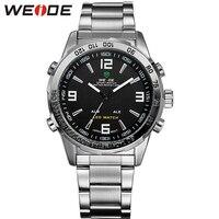 WEIDE Luxury Analog Digital LED Display Men S Sports Japan Quartz Wrist Military Watch WH1009 24