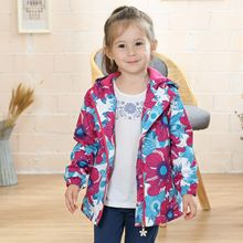 Waterproof Windproof Children Outerwear Baby Girls Jackets Children Kids Coat Warm Polar Fleece For 100-150cm Winter  Spring