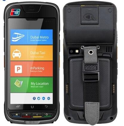 Emv barcode scanner NFC IC lecteur de Carte Carte À Puce lecteur android de poche Électronique Consommateur DISPOSITIF pos terminal