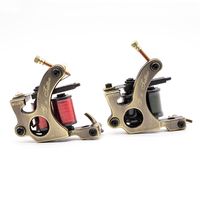 Hot Sales Wire Cutting 10 Wrap Coils Tattoo Machine For Liner And Shader Copper Coil Machine Tattoo Supplies