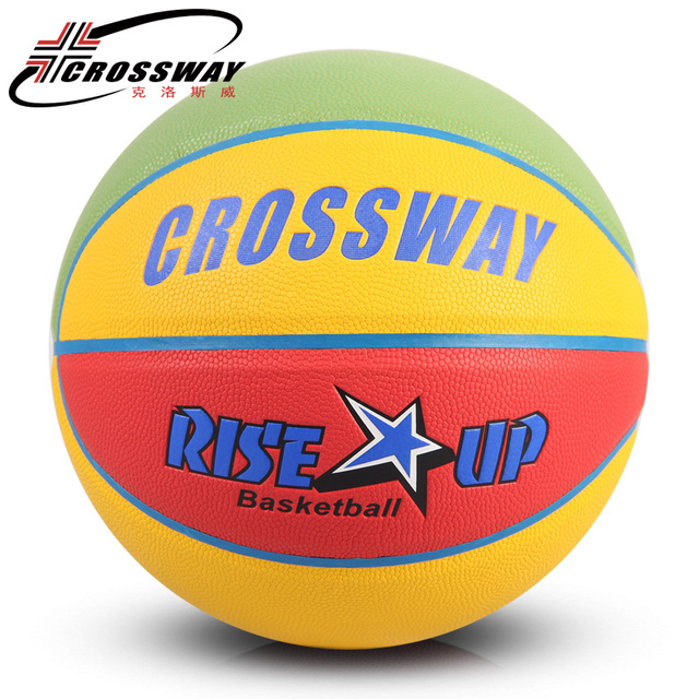 CROSSWAY New Brand Women Basketball Balls LQ-661 High Quality PU Leather  Outdoor Indoor Size 01591a17cc
